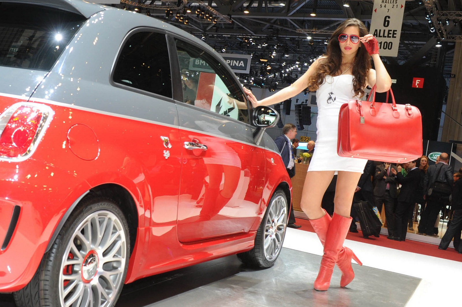 2012 Geneva Motor Show Girls Autotribute