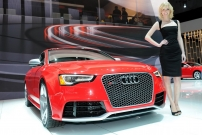22012 New York Auto Show Girl