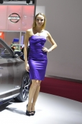 2012 paris motor show blond girl