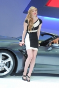 Blond Girl 2013 Geneva Show