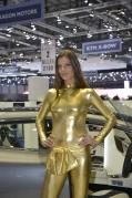 Brunette Girl 2013 Geneva Show