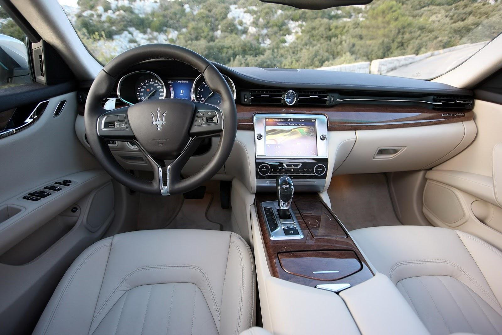 new-2013-maserati-quattroporte Maserati Quattroporte 2013 Interior