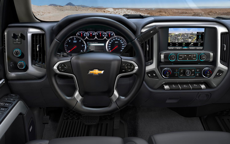 شيفروليه سلفرادو Chevrolet Silverado new-2014-chevrolet-silverado-dashboard.jpg