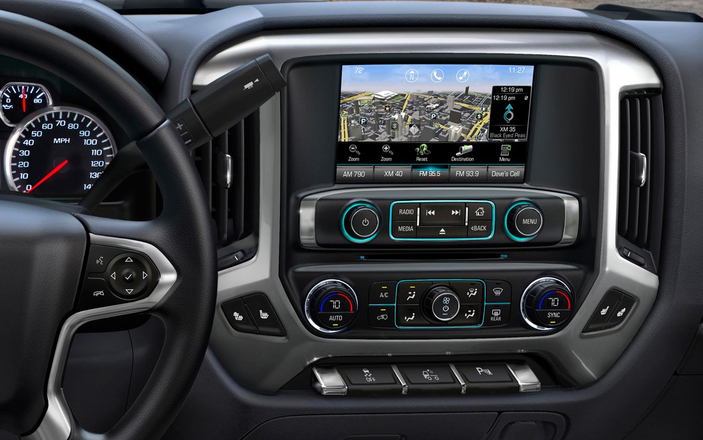 شيفروليه سلفرادو Chevrolet Silverado new-2014-chevrolet-silverado-radio-control.jpg