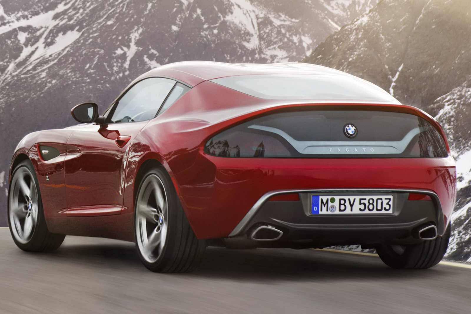 BMW Z4 Zagato Coupe Pictures and Details - AutoTribute