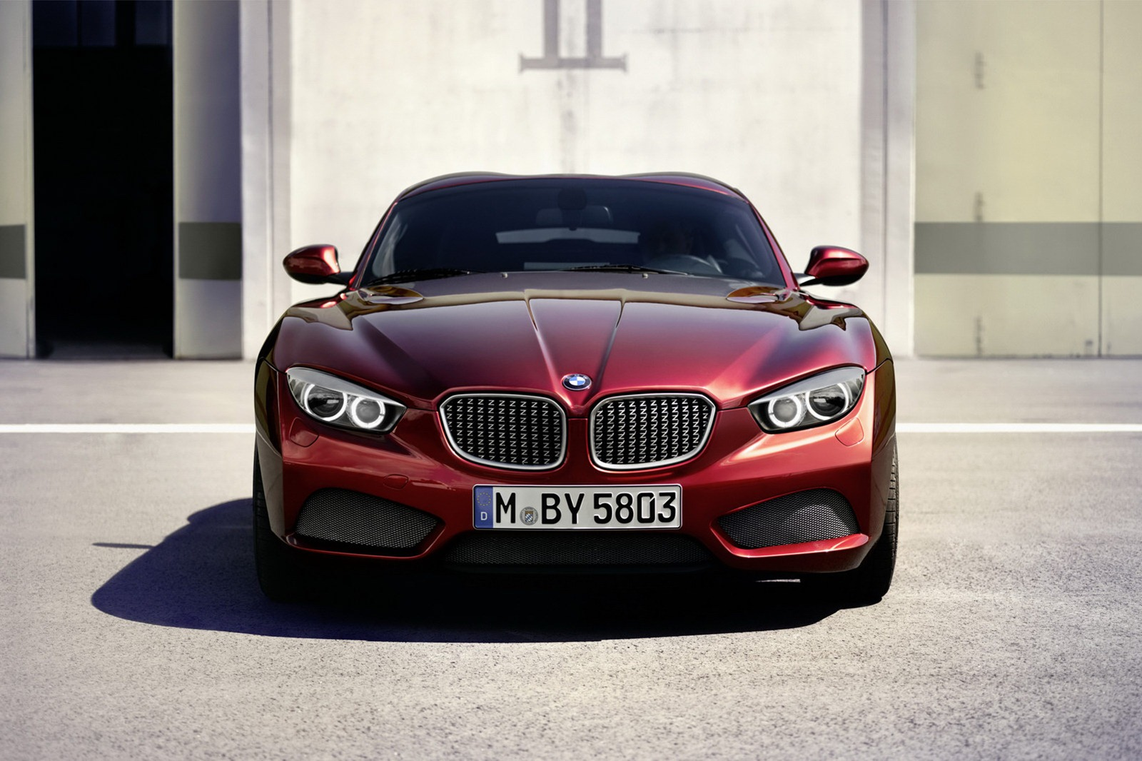 Bmw Z4 Zagato Coupe Pictures And Details Autotribute