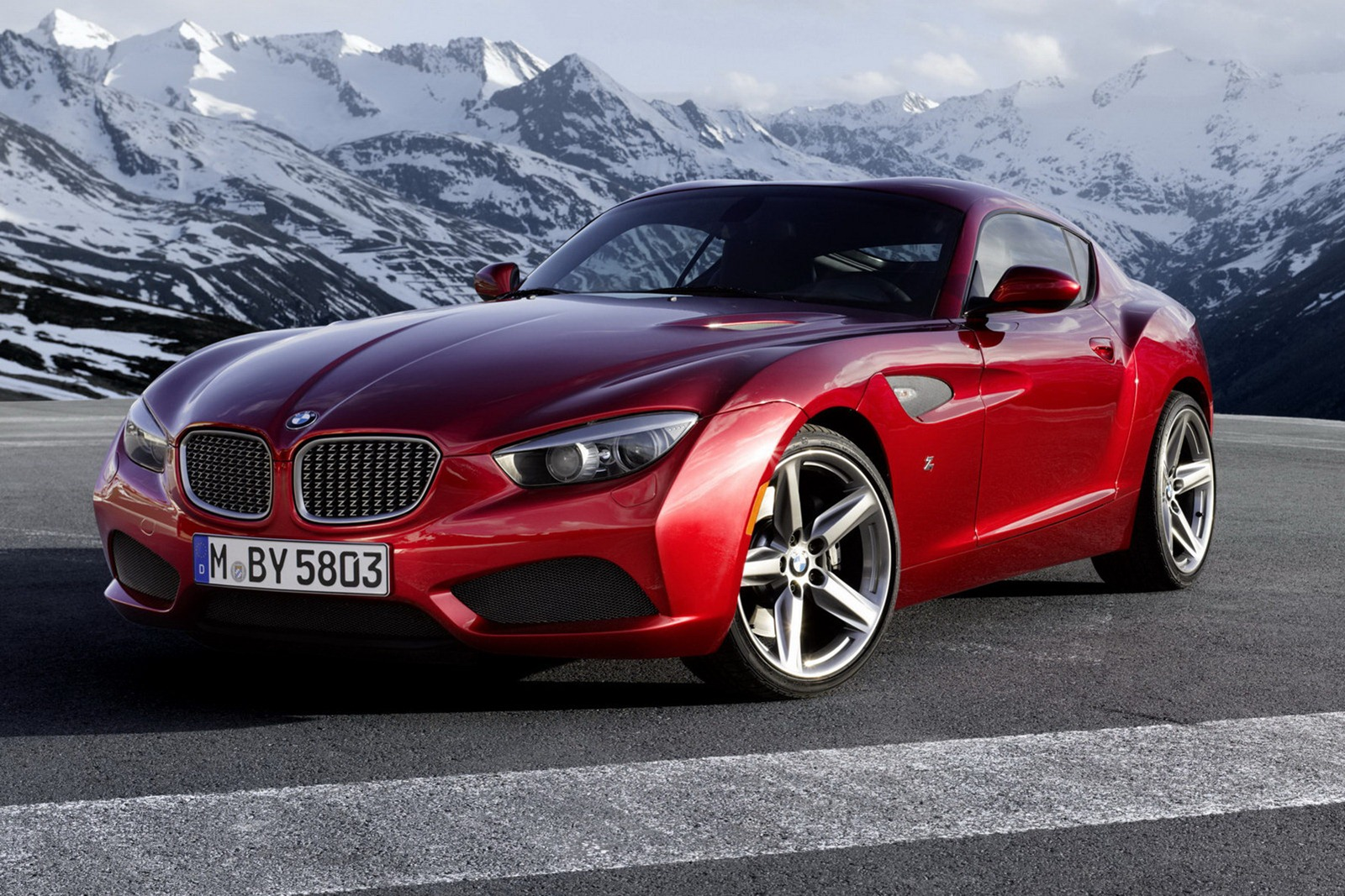 bmw z4 zagato coupe pictures and details autotribute. Black Bedroom Furniture Sets. Home Design Ideas