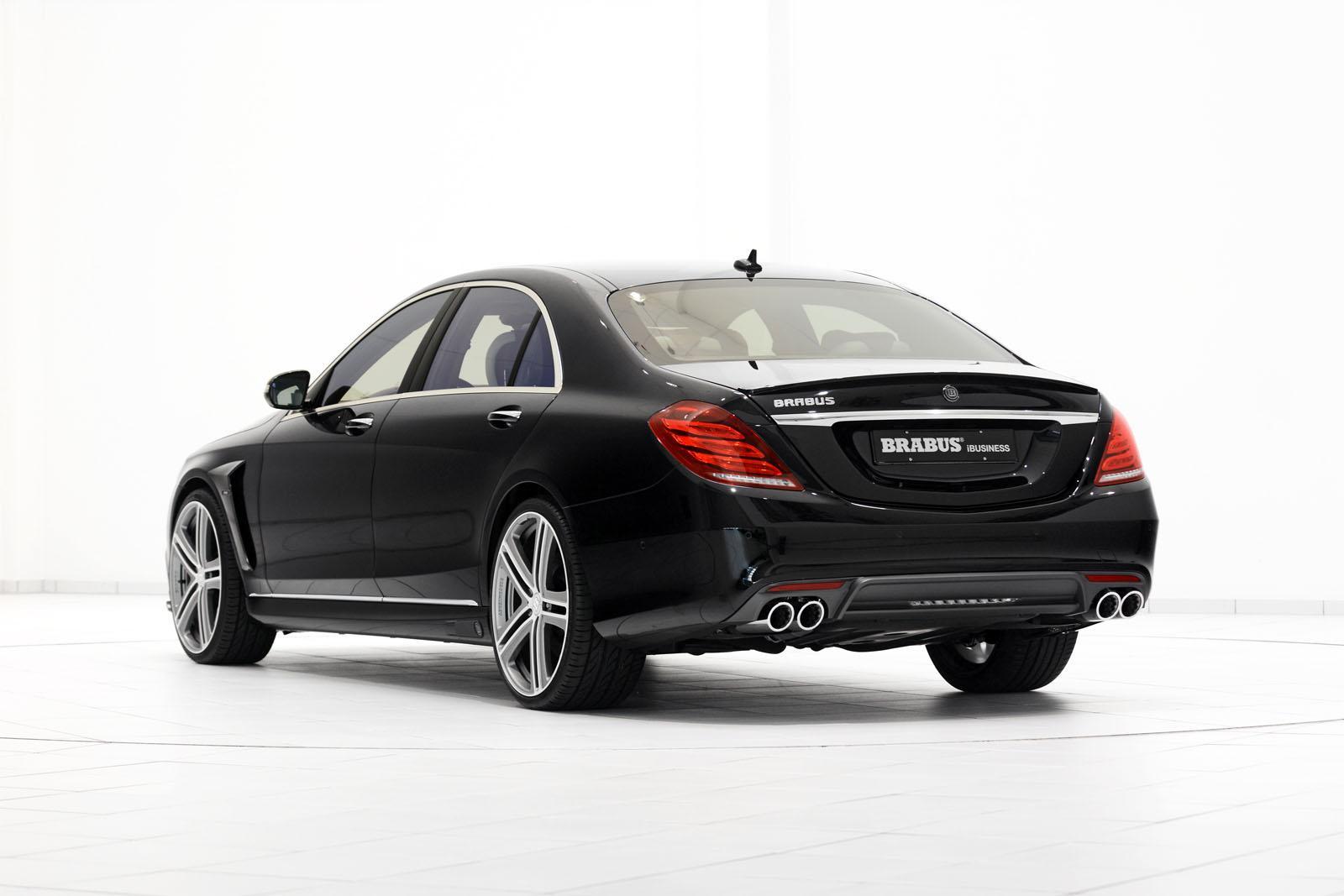 Brabus 850 6 0 biturbo ibusiness autotribute for Mercedes benz 850