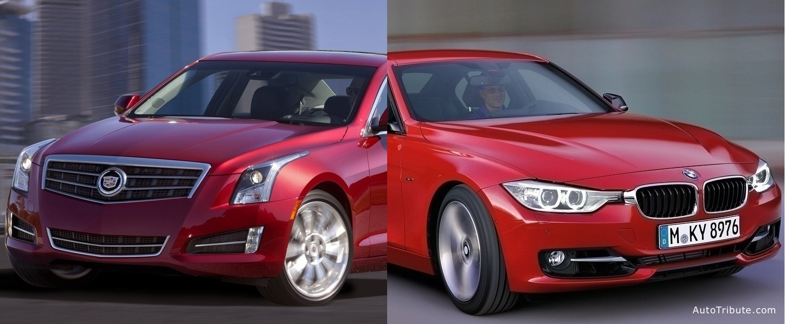 Cadillac-ATS vs BMW-3 Series