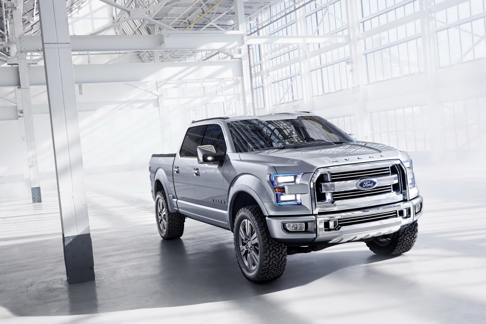 Ford atlas truck concept