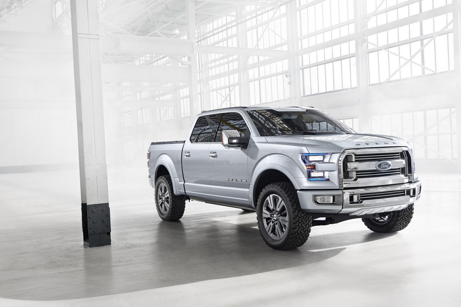 Ford Atlas Truck Concept Previews Next F-150, Photos and ... Ford Concept Trucks Atlas