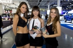 Girls of the 2012 Moscow Motor Show