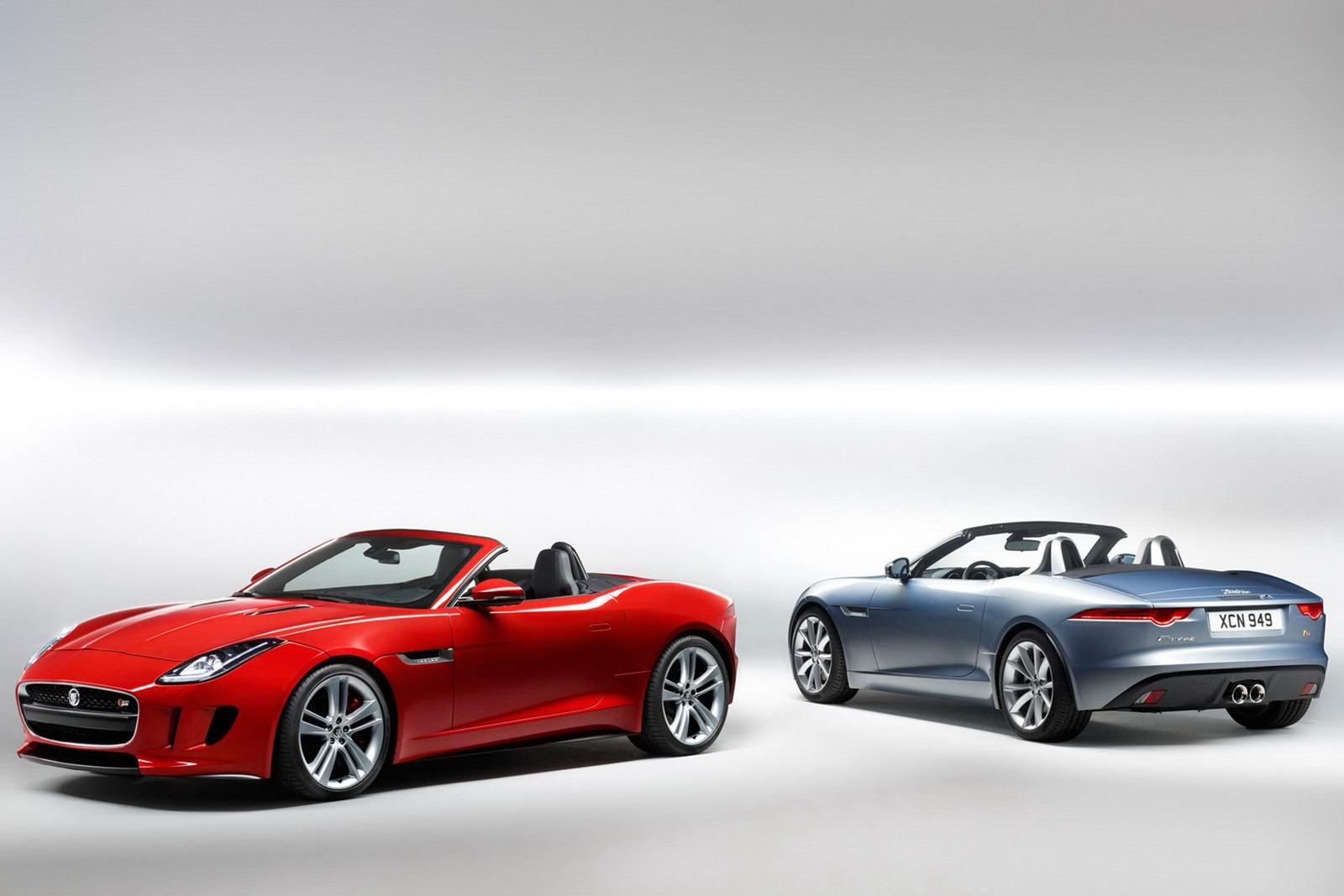 new jaguar f type roadster pictures and details video. Black Bedroom Furniture Sets. Home Design Ideas