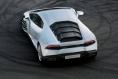 White Lamborghini Huracan top