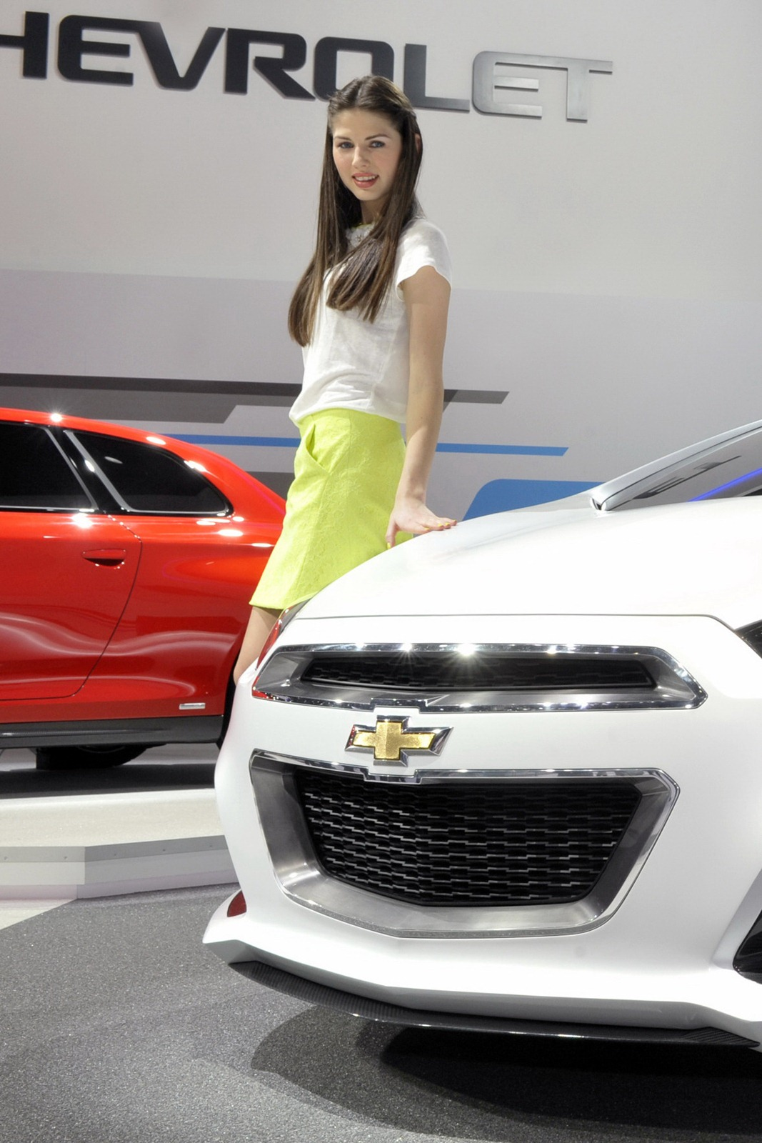 2012 Geneva Motor Show Girls - AutoTribute