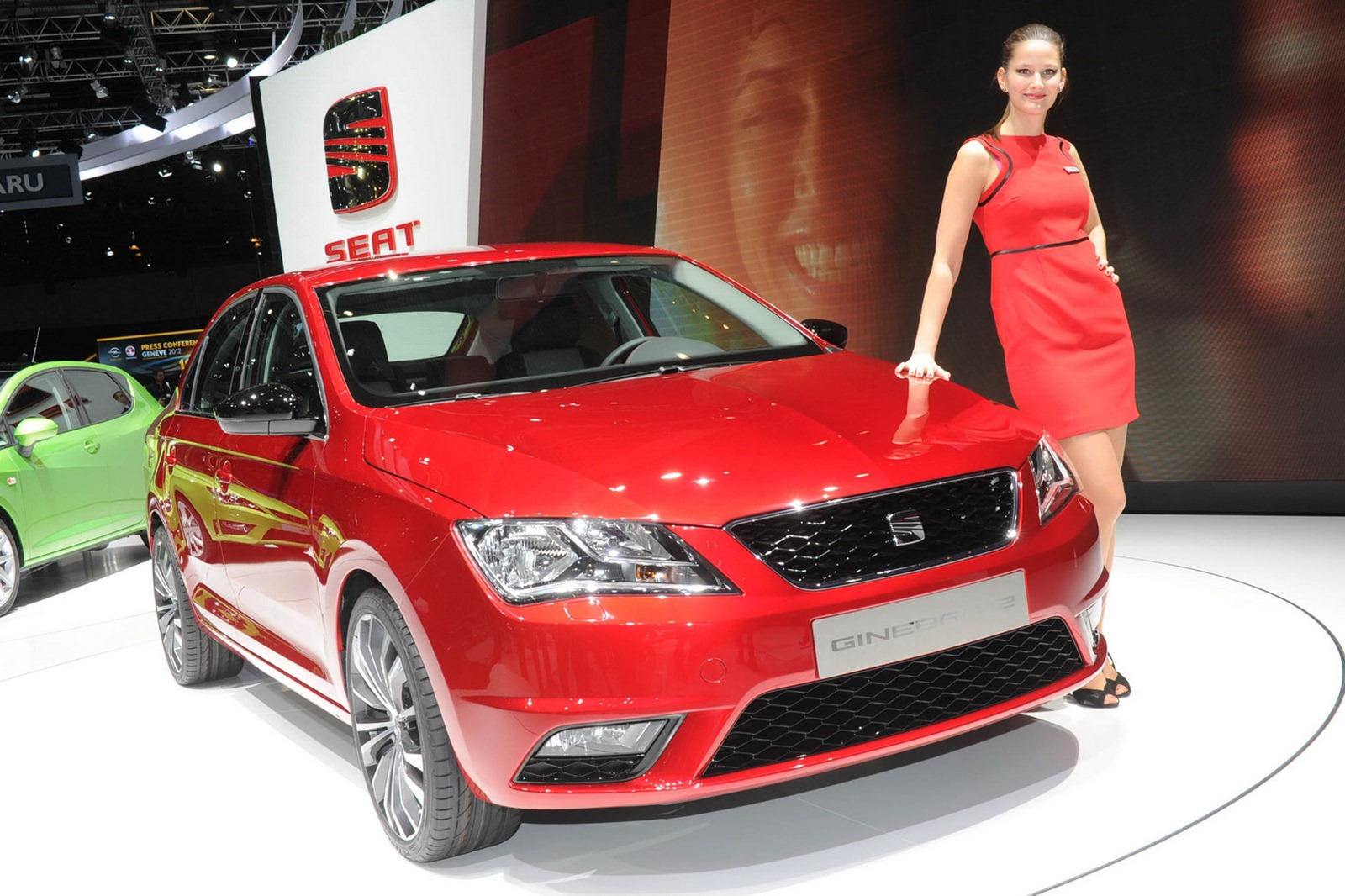 2012 Geneva Motor Show Girls - AutoTribute