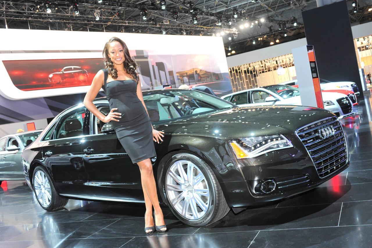 2012 New York Auto Show Girls - AutoTribute