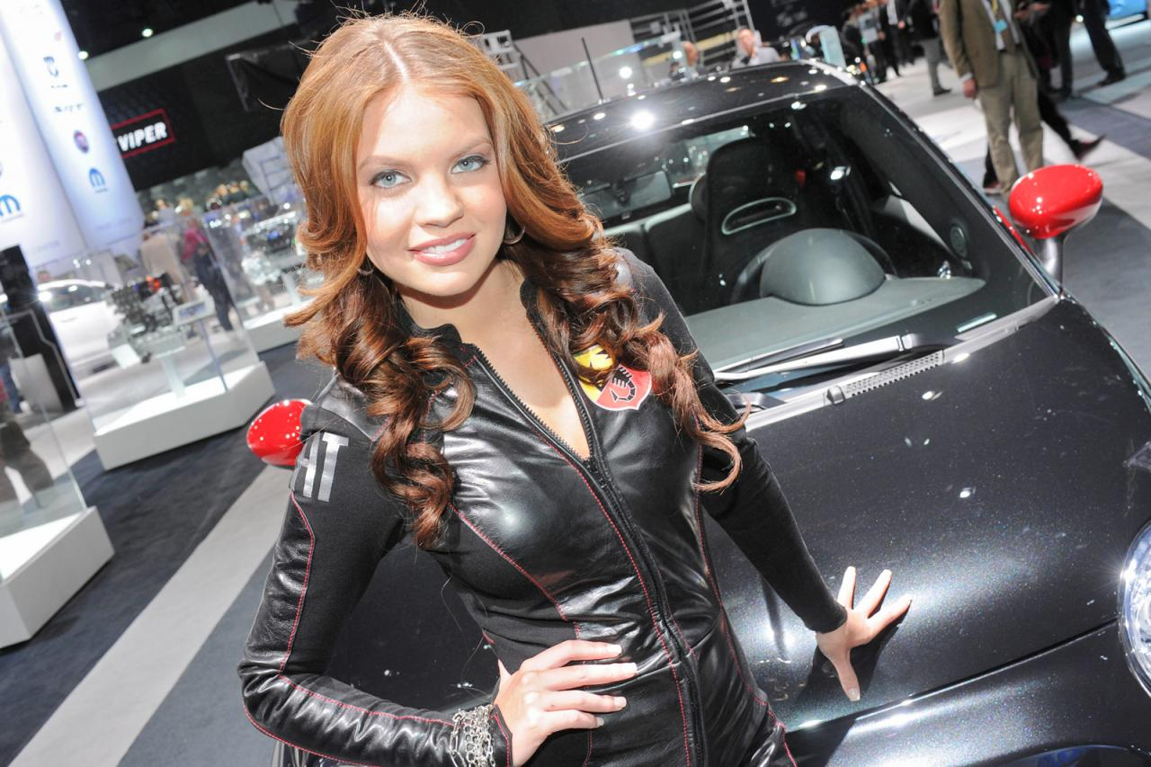 2012 New York Auto Show Girls - AutoTribute