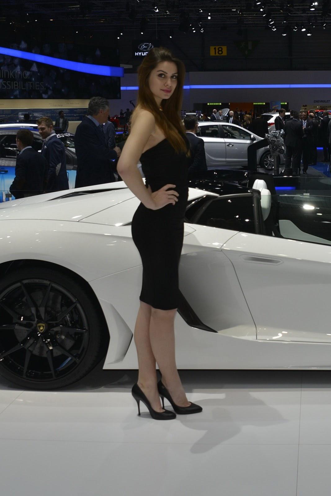 Geneva Motor Show Girls - AutoTribute