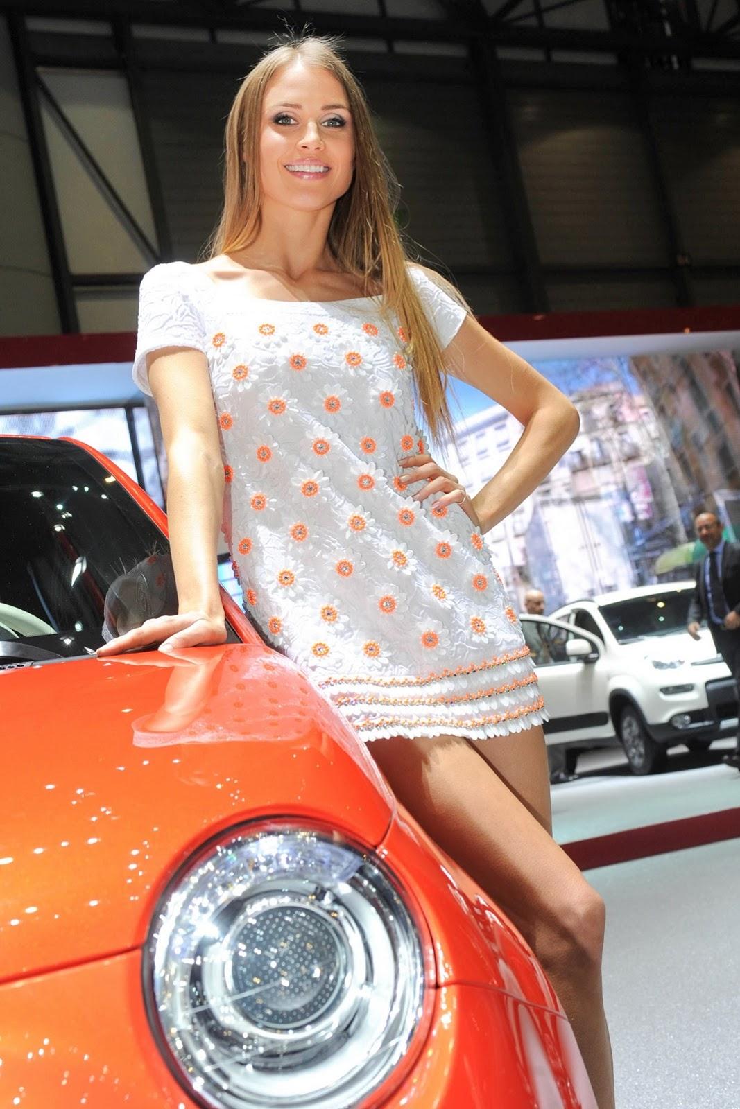 Plug In Hybrid Cars >> Geneva Motor Show Girls - AutoTribute