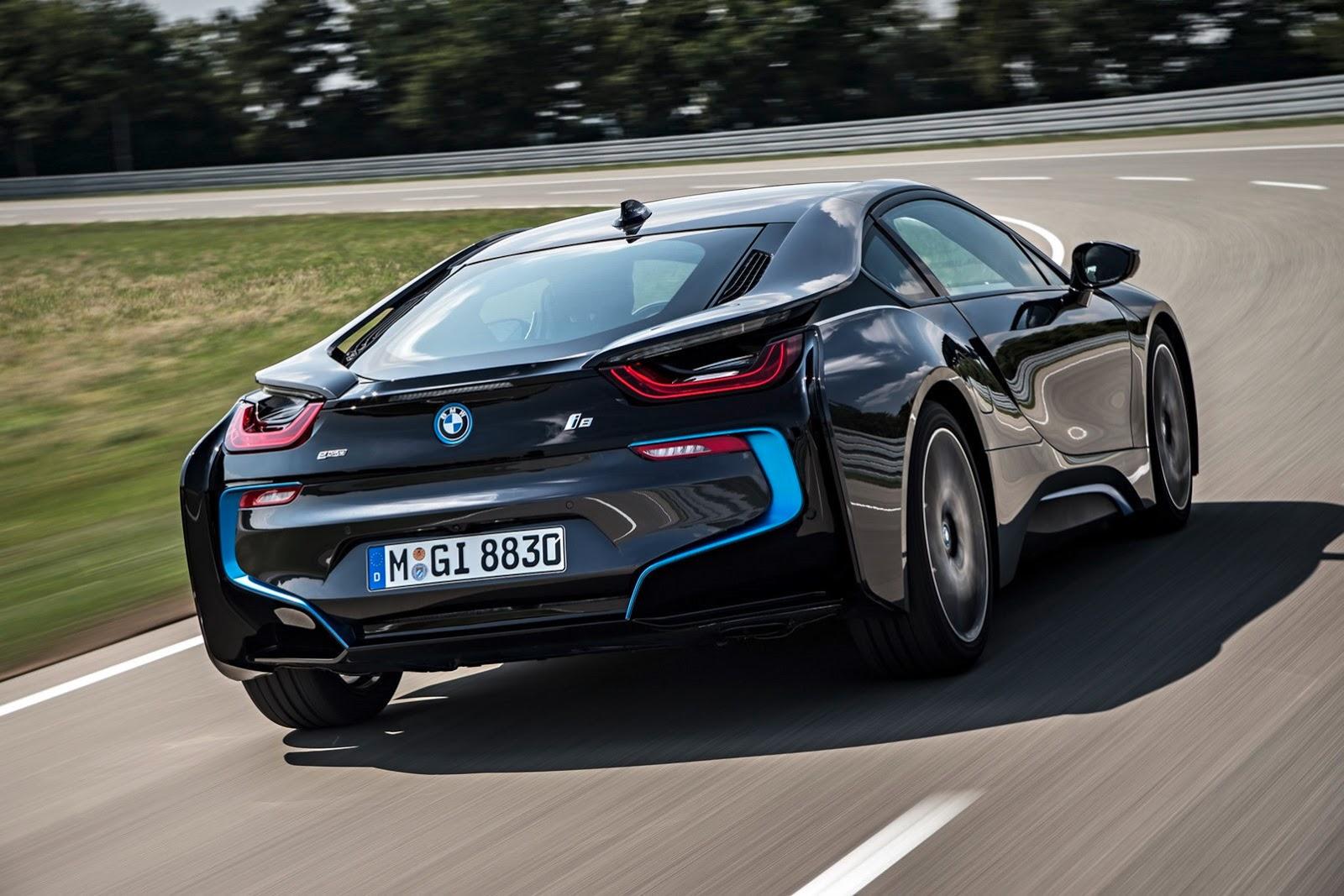 BMW i8 Plug-In Hybrid Sports Car - AutoTribute