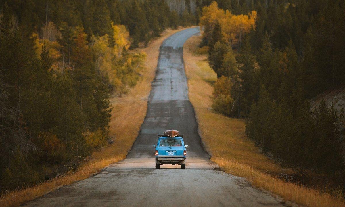 Winter Road Trip Yellowstone