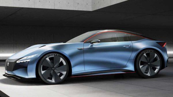 New Nissan Z Sports Car Render
