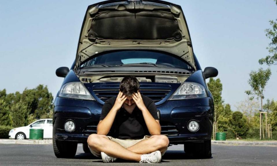 Extended Car Warranty - Broken-down car