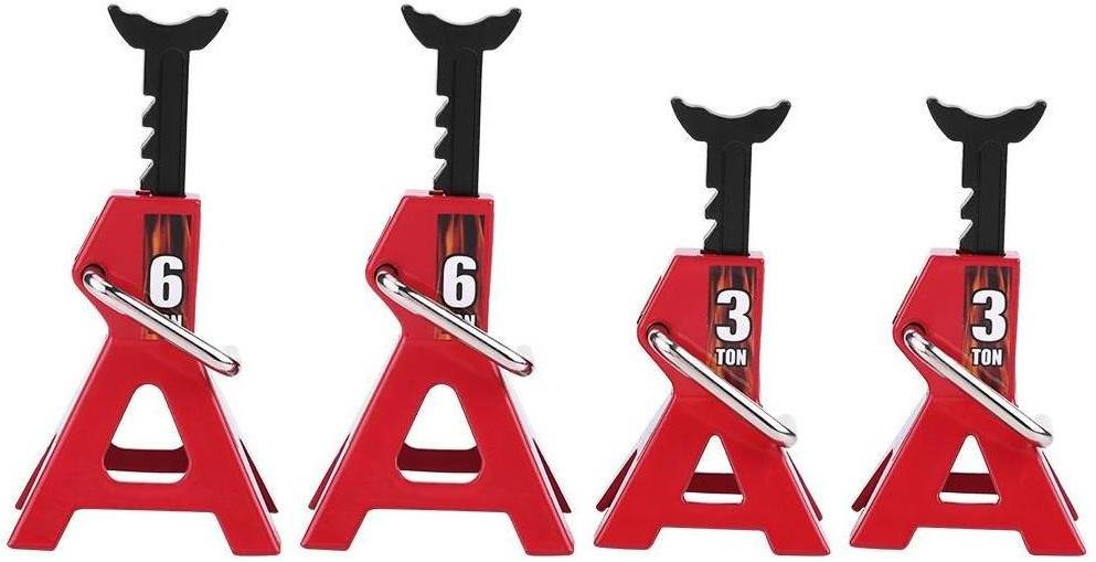 Best Jack Stands - Different sizes placed side by side