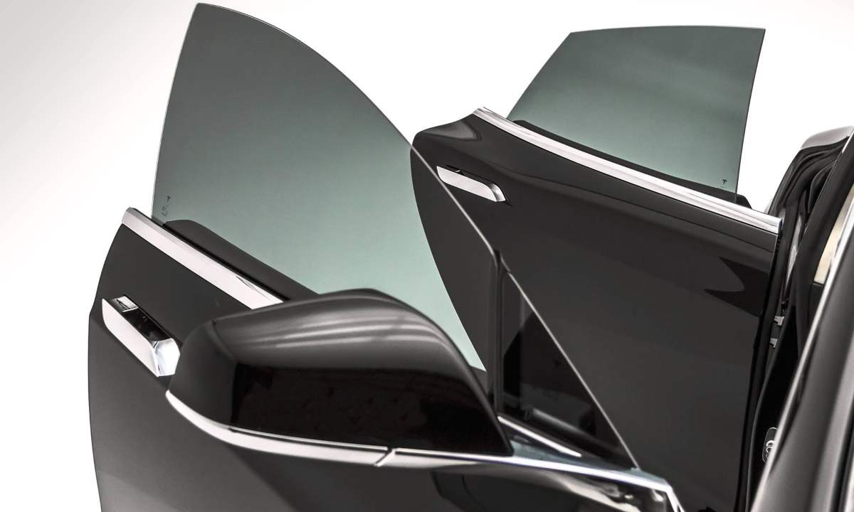 Side car doors with best window tint