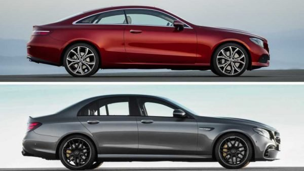 Coupe vs Sedan - Mercedes-Benz E-Class