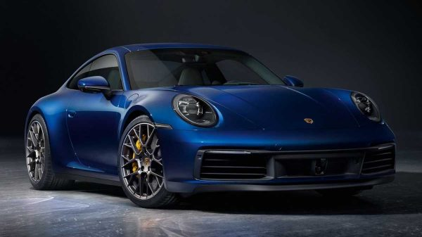 What Is A Coupe-Blue Porsche 911