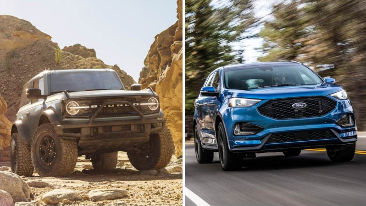 Cossover vs SUV - Ford Bronco and Ford Edge