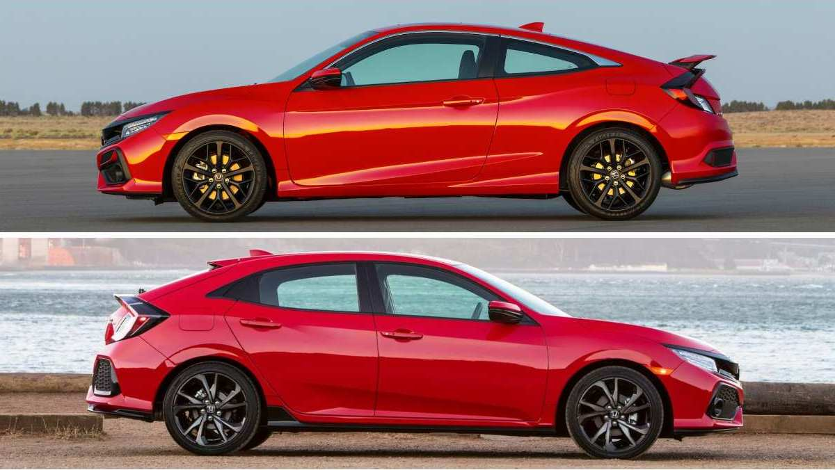 Coupe vs Hatchback - Honda Civic