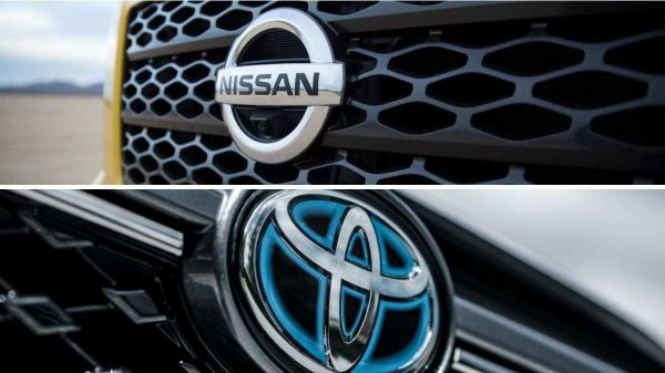 Nissan vs Toyota - Brand Logos
