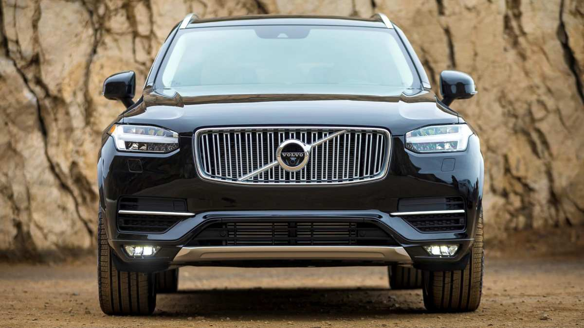 Are Volvos Good Cars - Volvo XC90 front end