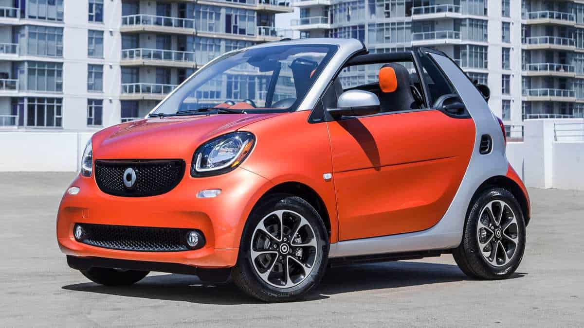 Smart ForTwo - How Much Does A Car Weigh