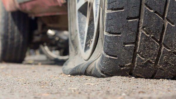 Flat Tire Pressure Sensor Fault