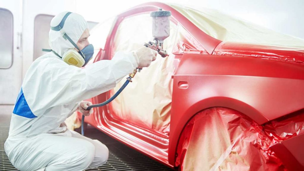 How much does it cost to paint a car red