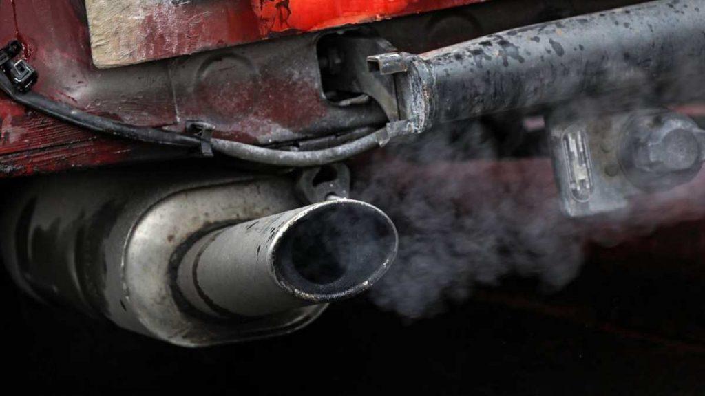 Car running rich - black smoke