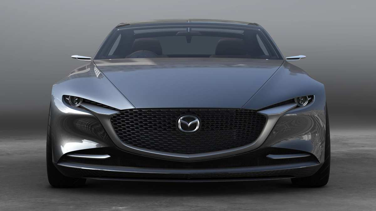 Are Mazdas Good Cars - Front End Of Mazda Concept